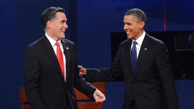 President Obama Mitt Romney First Debate - H 2012