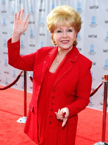 Debbie Reynolds Red Carpet - P 2012