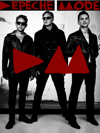 Depeche Mode Tour 2013 Poster - P 2012