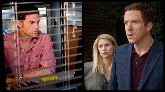 Dexter Homeland Showtime Split - H 2012