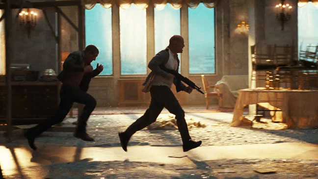 Die Hard 5 Trailer Screengrab - H 2012