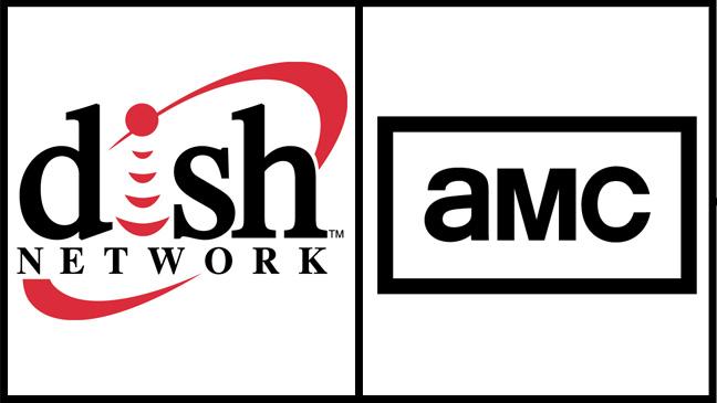 Dish Logo AMC logo Split - H 2012