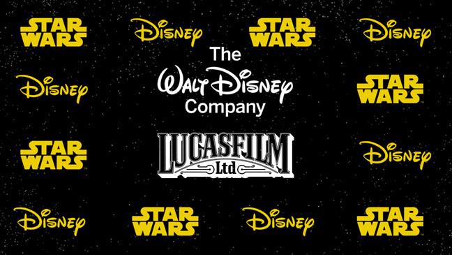 Disney LucasFilm Star Wars Logo - H 2012