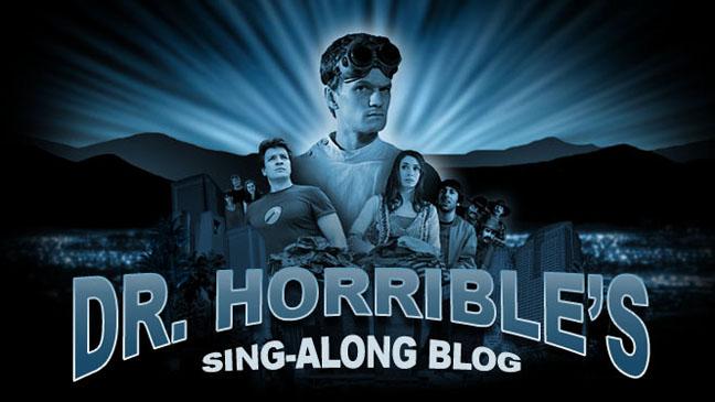Dr. Horrible's Sing-Along Blog Poster - H 2012