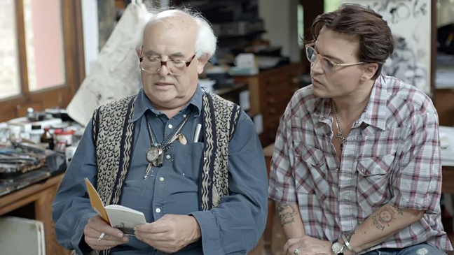 For No Good Reason - film still - Johnny Depp