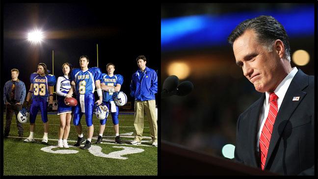 Friday Night Lights Cast Romney Split - H 2012