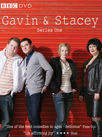 Gavin & Stacey DVD Series One Cover - P 2012