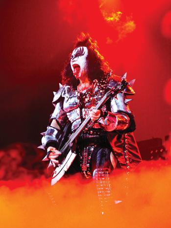 Kiss Gene Simmons live P