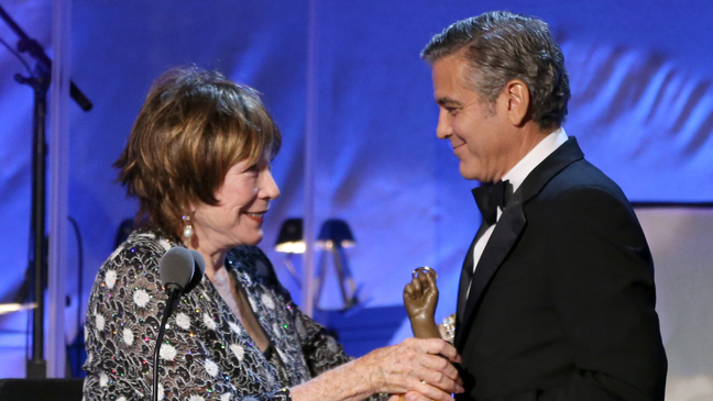 Shirley MacLaine George Clooney Carousel of Hope - H 2012