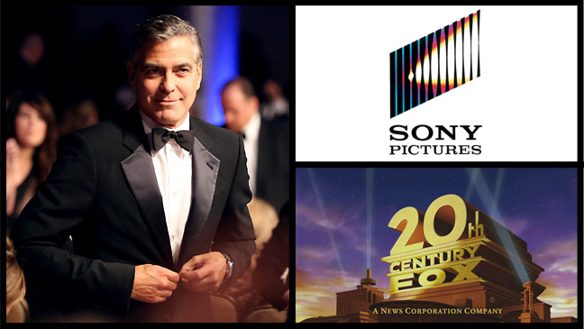 George Clooney Sony Pictures 20th Century Fox - H 2012