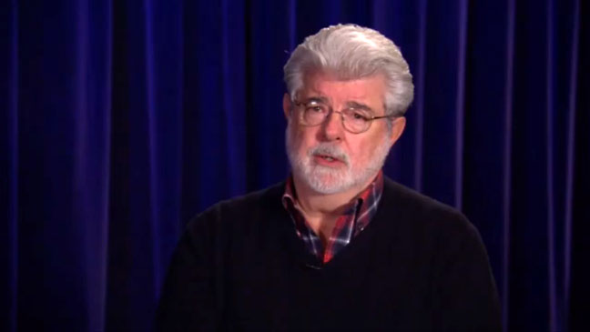 George Lucas Screen Grab - H 2012