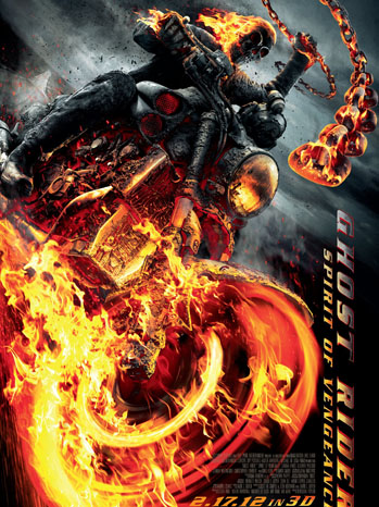 Ghost Rider 3D Poster - P 2012