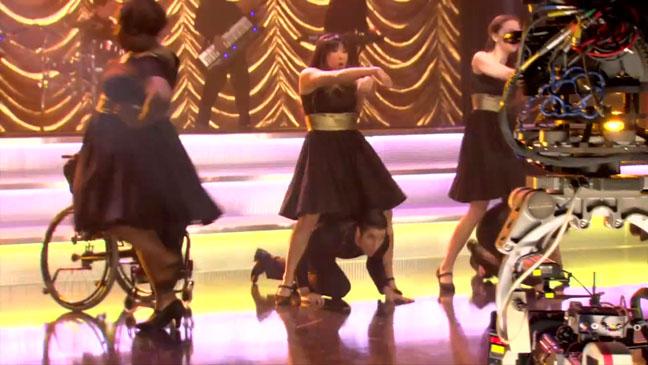 Glee Gangnam Style Screengrab - H 2012