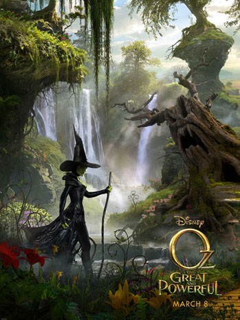 Oz: The Great and Powerful Poster - P 2012