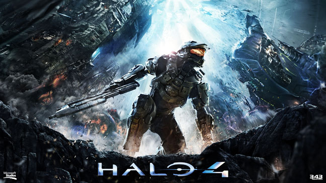 Halo 4 Cover Art - H 2012