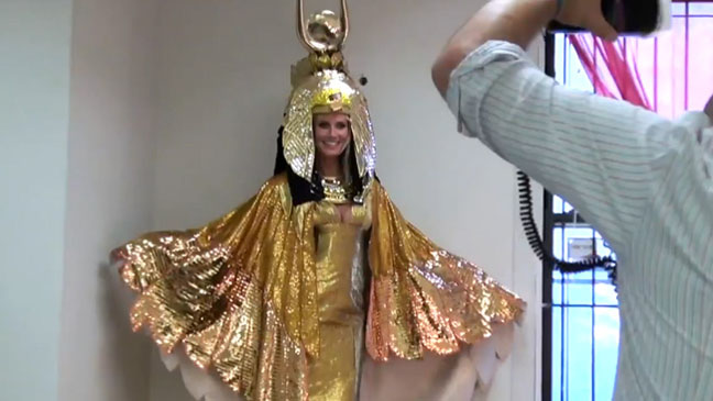 Heidi Klum Cleopatra - H 2012