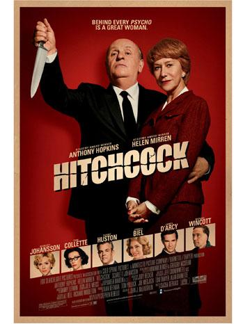'Hitchcock' Film Poster - P 2012