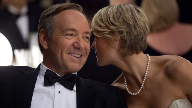 House of Cards - Kevin Spacey and Robin Wright