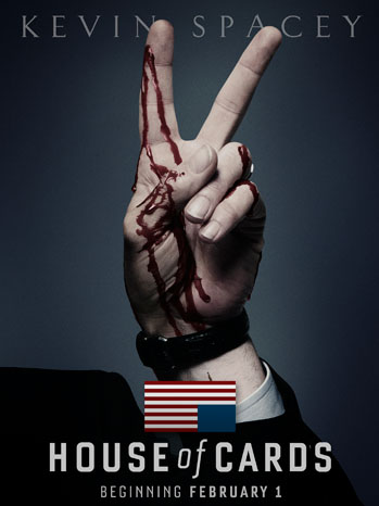 House of Cards Netflix Key Art - P 2012