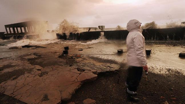 Hurricane Sandy Atlantic City Coastal Damage - H 2012