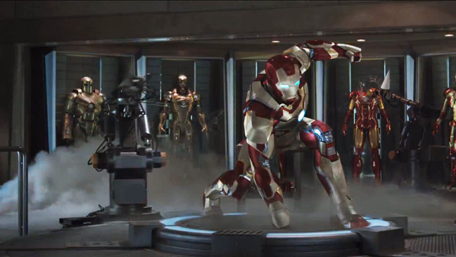 Iron Man 3 Trailer Screengrab - H 2012