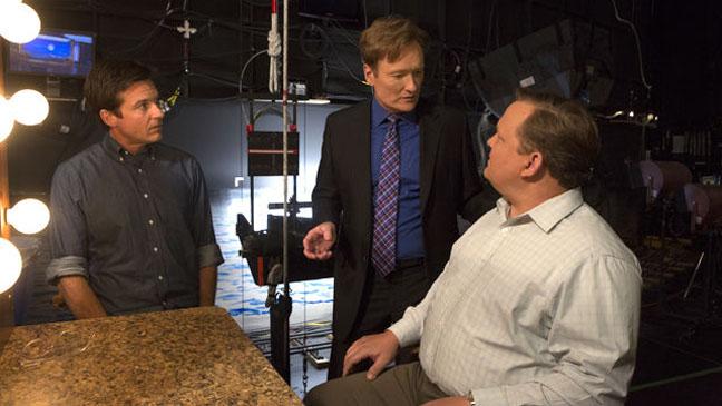 Jason Bateman Conan O'Brien Andy Richter Arrested Development - H 2012