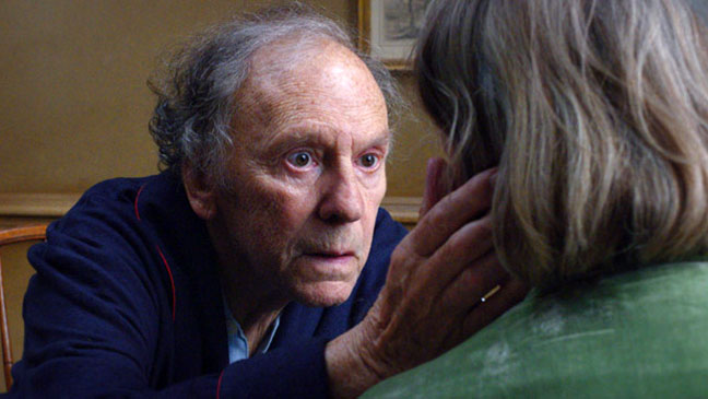 Jean Louis Trintignant Emmanuelle Riva Amour First Look - H 2012