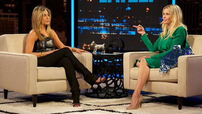 Jennifer Aniston Chelsea Handler - H 2012