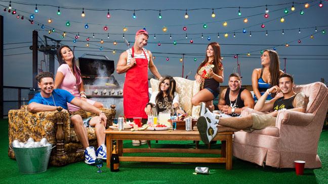 Jersey Shore Final Season Key Art - H 2012