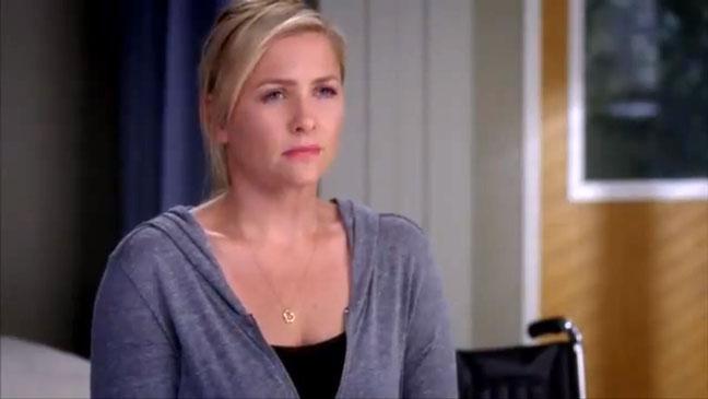 Jessica Capshaw Grey's Anatomy Screen Grab - P 2012