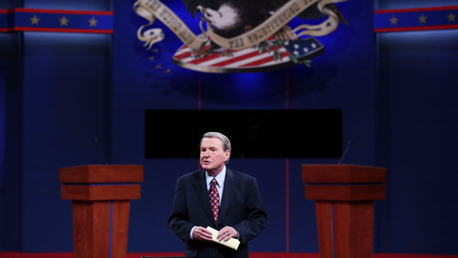Jim Lehrer First Presidential Debate 2012 - H 2012