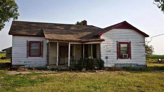 Johnny Cash Childhood Home - H 2012