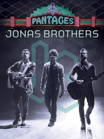 Jonas Brothers Pantages poster P