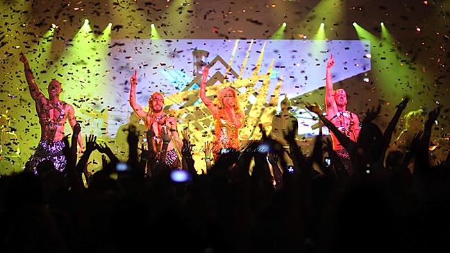 Ke$ha El Rey Casio event L