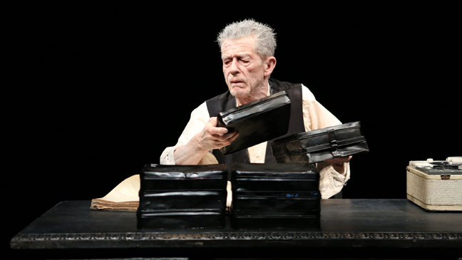 Krapp's Last Tape Production Photo - H 2012