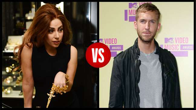 Lady Gaga vs. Calvin Harris - H 2012