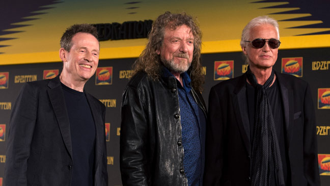 Led Zeppelin Press Conference - H 2012