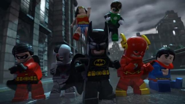 Lego Batman Trailer Screengrab - H 2012