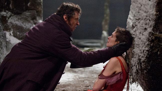Les Miserables Hugh Jackman Anne Hathway - H 2012