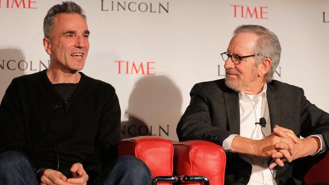 Daniel Day Lewis Steve Spielberg Panel - H 2012