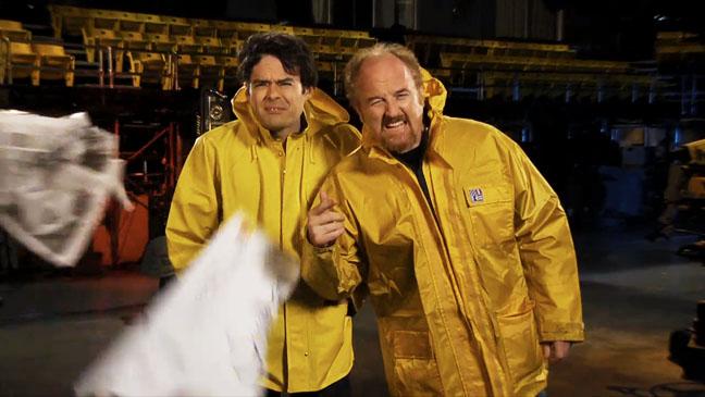 Louis C.K. SNL Promo Screengrab - H 2012