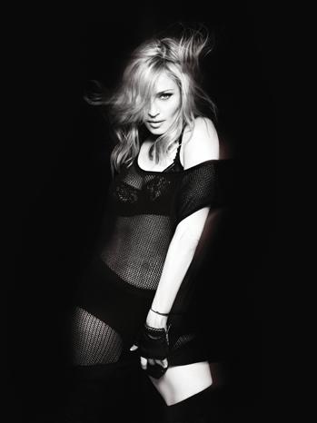 Madonna PR black and white P 2012