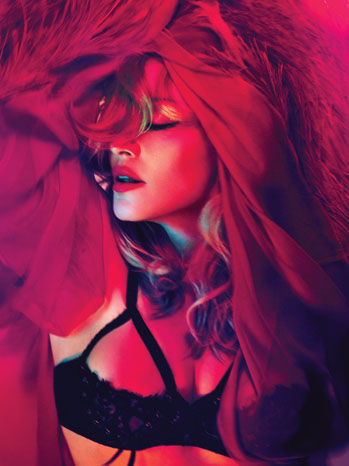 Madonna PR Portrait Eyes Closed - P 2012
