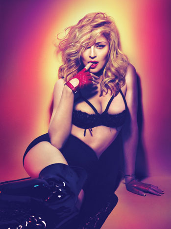 Madonna PR Portrait Red Glove - P 2012