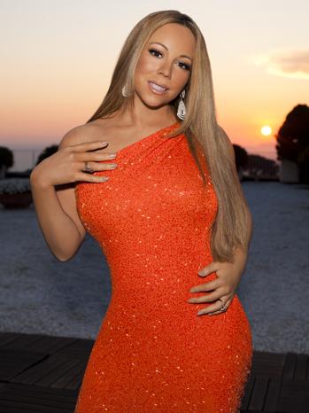 Mariah Carey American Idol PR P 2012