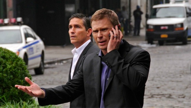 Mark Pellegrino and Jim Caviezel Person of Interest - H 2012