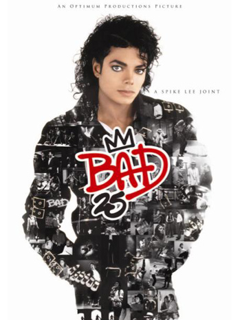 Michael Jackson Bad25 poster P