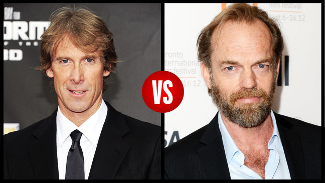 Michael Bay Hugo Weaving Split - H 2012