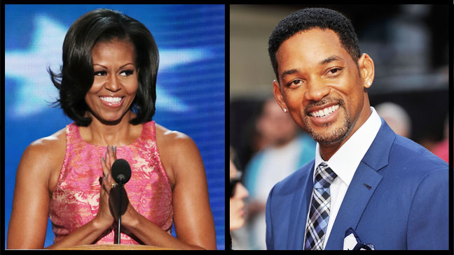 Michelle Obama Will Smith Split - H 2012