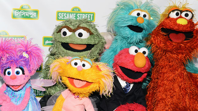 Sesame Street Workshop 10th Annual Benefit Gala  Muppets - H 2012